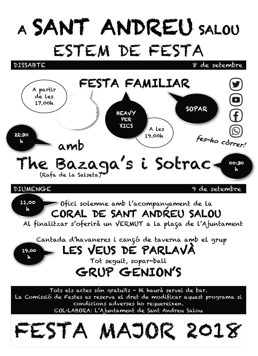 Festa Major Sant Andreu Salou